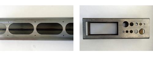 3Dレーザー加工サンプル穴あけ