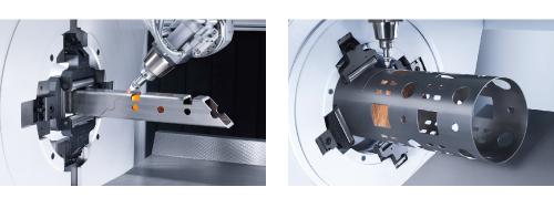 鋼管・形鋼3Dレーザー加工